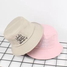Ldslyjr хлопковая панамка с вышивкой Рыбацкая шляпа на открытом воздухе Дорожная шляпа складная шляпы от солнца для мужчин и женщин 541