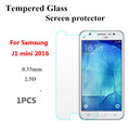 9H Round Edge 2.5D Tempered Glass Film For Samsung J1 mini 2016 Style Screen Protector for J1 mini Glass Protective Film
