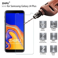 2.5D 0.26mm 9H Tempered Glass For Samsung Galaxy J4 Plus J4+ Screen Protector film for Samsung Galaxy J4 Plus 6.0 Glass