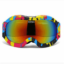 Children Snow glasses skiing Eyewear font b Snowboarding b font double anti fog UV Lens Flying