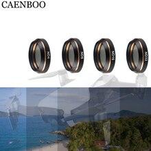 Para Mavic Air Lens ND filtro de densidad neutra 4 Uds Set ND4 ND8 ND16 ND32 para DJI Mavic Dron de aire con cámara filtros Accesorios