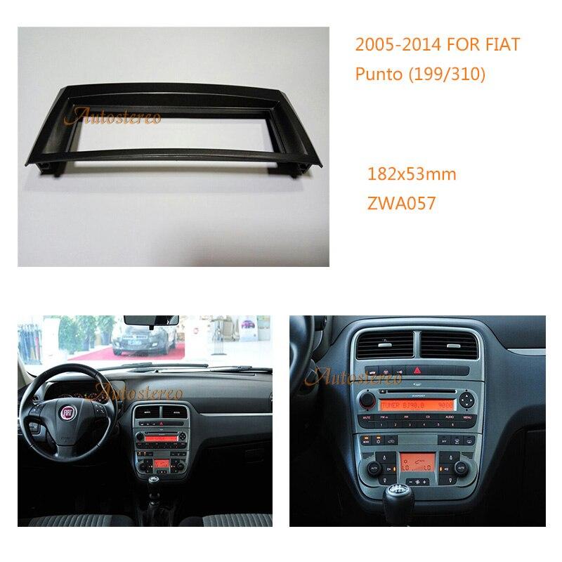 car radio fascia for fiat punto 199 310 2005 2014 linea. Black Bedroom Furniture Sets. Home Design Ideas
