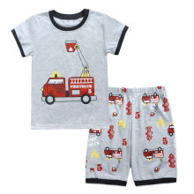 Toddler Kids Summer Boys Clothes 2 3 Years Fashion Cartoon Print T shirt+Shorts Boys Outfits Kids Clothing For Girls Sleepwear(China)