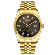 купить Waterproof Quartz Business Watch Female Male Top Brand Luxury Date Clock Wrist Watch for Men Women Couple Watches по цене 868.2 рублей