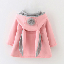 Lawadka Faux Fur Coat Infant Baby Girl Clothes Hooded