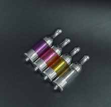 Protank BCC Pyrex Glass 2.5mL Atomizer Clearomizer 510 Thread Vaporizer Tank for eGo Evod Ego-T battery(China)