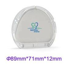 New Arrival 89mm*71mm*12mm Amann Girrbach Zirconia Disc Compatible AG CADCAM Dental Materials