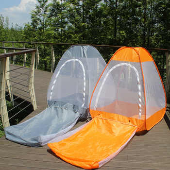1*1.3M 1kg Automatic pop up indoor outdoor sit and lay tent meditation cross legged anti mosquito Buddhist yoga net Yurts - DISCOUNT ITEM  5% OFF Sports & Entertainment