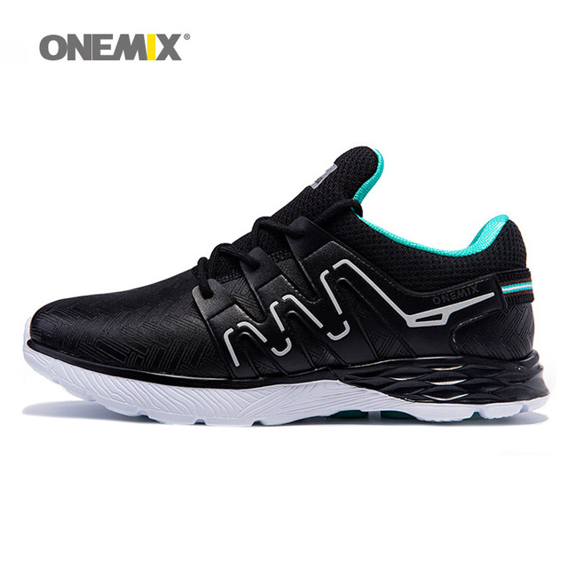 2017 New onemix Men Top quality  Running Shoes Sports  Lightweight  Cushion Outdoor Walking Sneakers 1199