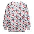Christmas Women Fashion Long Sleeve Hoodies Sweatshirts Pullovers Femme Tracksuits Tops Sweatshirts for Women