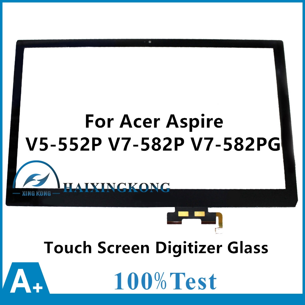15.6For Acer Aspire V5 552P X439 X617 X404 8677 6646 X637 8471 8646 V7 582P 6673 V7 582PG 6479 9856 Touch Panel Digitizer Glass адаптер ноутбука avanshare 19v 7 9a ac 120w 5 5 1 7 acer for acer