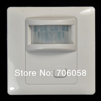 Wall Mount IR Infrared Motion Sensor Automatic Light Lamp Switch AC100 250V