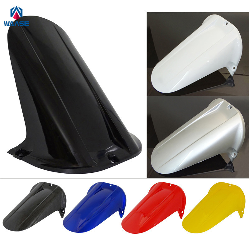 Motorcycle Rear Wheel Hugger Fender Mudguard Mud Splash Guard For Yamaha YZF R1 1998 1999 2000 2001 red for yamaha yzf r25 r3 13 16 14 15 motorcycle rear fender dust mudguard with chain guard fairing tire wheel hugger protector