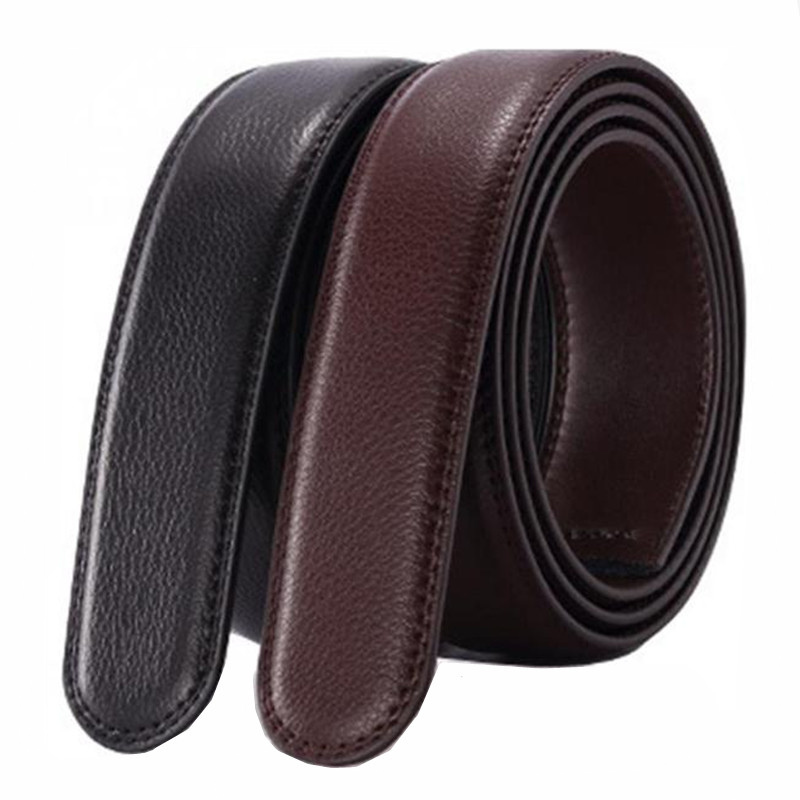 No Buckle   Belt   Body Strap Without Buckle   Belts   Mens Good Quality Male Black Coffee   Belts   Automatic Buckle   Belt   For Men
