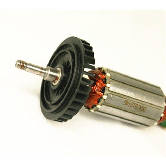 AC220-240V Rotor Darmature Dancrage pour MAKITA 9553HB 9553HN 9554NB 9553HN 9555HN 9553NB 9555NB 9554HN 515619-7 515616-3 5101053-3