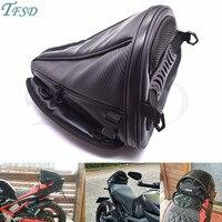 new carbon fiber color motorcycle tail bag motorcycle seat backpack saddle bag custom travel handbag for Honda CBR600RR CBR954RR