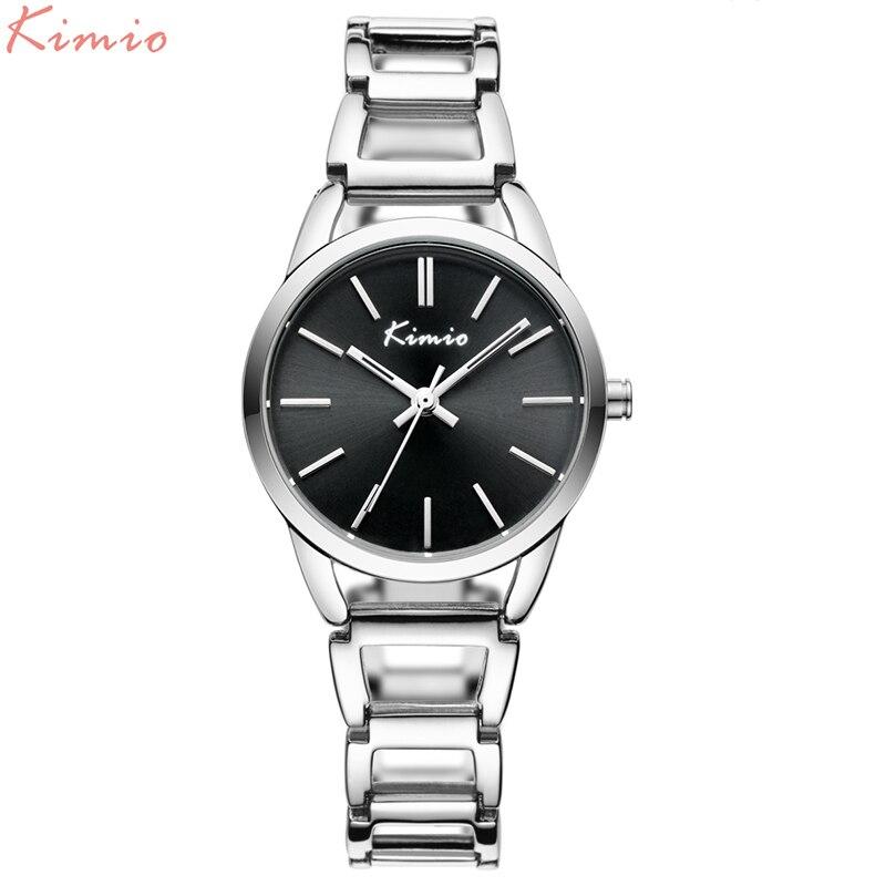 KIMIO Vintage New Gold Bracelet Watch For Woman Elegant Luxury Brand Ladies Quartz Watches Reloj Mujer