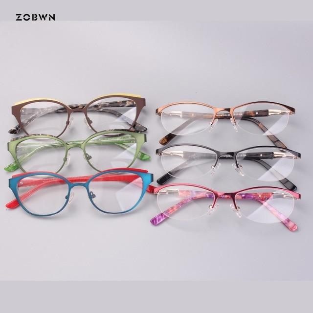 5b5ed95e7c Mix wholesale new Fashion Brand Women Cat Eye Plain Glasses Women Clear Cat  Eye Glasses High Quality Vintage Glasses For Women