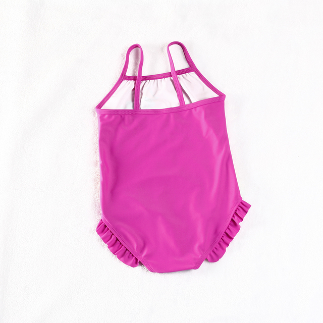 New 2018 Girls Swimsuit One Piece Children Swimwear Kids Girls Swimsuit Bathing Suit Beachwear Summer Swimming Suit H1-H023