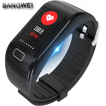 Get more info on the 2018 New Men Women Sport Smart Bracelet IP67 Waterproof Heart Rate Blood Pressure Monitoring Pussela inteligente PK mi band 3