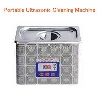휴대용 초음파 청소 기계 시계/유리 세탁기 초음파 청소기 628a