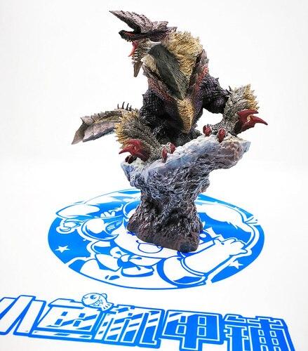 Monster Hunter World MHW XX гром волк Дракон тюрьма волк подвиды фигурка коллекция декоративные детские игрушки подарок - Цвет: StygianZinogre