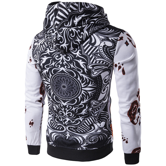 Fashion Hoodies Men Long Sleeve Hoodie poker Playing cards 3d print Sweatshirt Mens Moletom Masculino Hoodies Slim Tracksuit 1