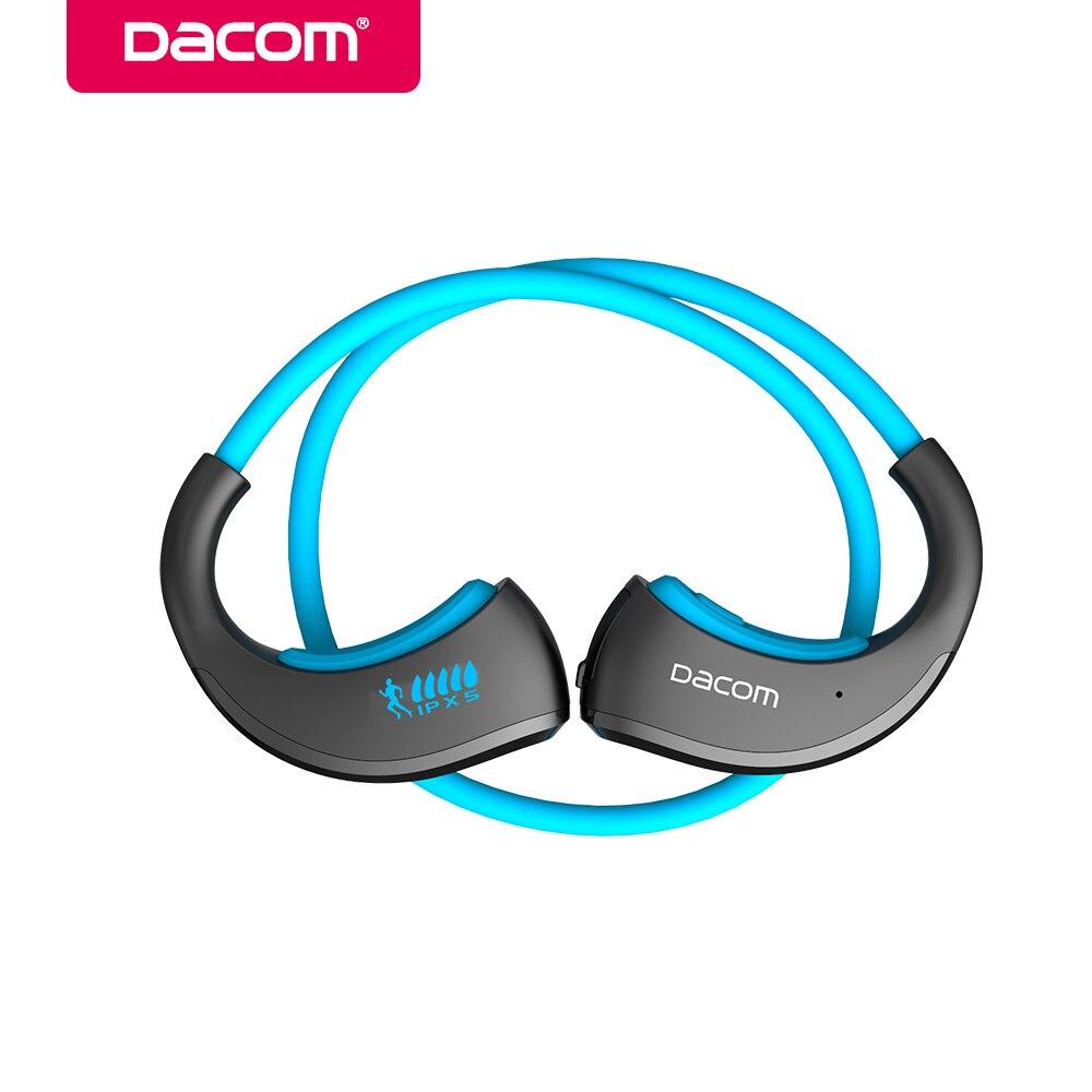 Dacom Armure Bluetooth V4.1 Stéréo Casque IPX5 Étanche Sans Fil Sports de Plein Air Casque Mains Libres Musique Écouteur Avec Mic