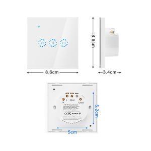 Image 5 - Smart Home WiFi Elektrische touch smart Jalousien vorhang schalter Ewelink APP Voice Control durch Alexa Echo google home Jalousien Motor
