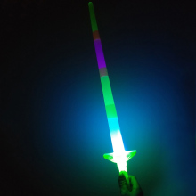 Sword Weapon Category Luminous Stick Four Retractable Sticks