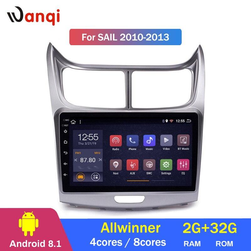 2G RAM 32G ROM 9 pouces Android 8.1 lecteur Dvd Gps de voiture pour Chevrolet SAil 2010-2013 Navigation Radio vidéo