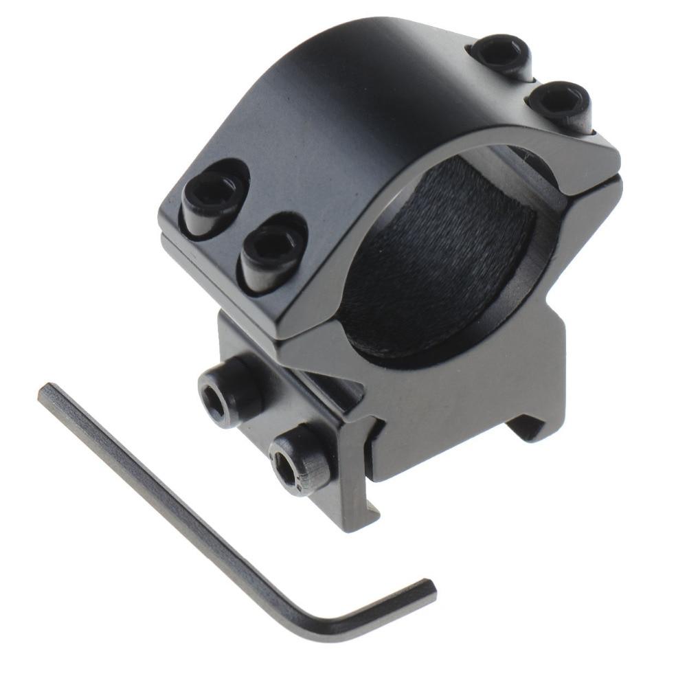 Hot 25.4mm Ring Weaver Picatinny 20mm Rail Mount Holder For Rifle Scope Flashlight цена