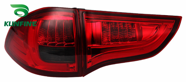 KUNFINE Pair Of Car Tail Light Assembly For MITSUBSHI <font><b>PAJERO</b></font> SPORT 2011-2016 Brake Light With Turning Signal Light image
