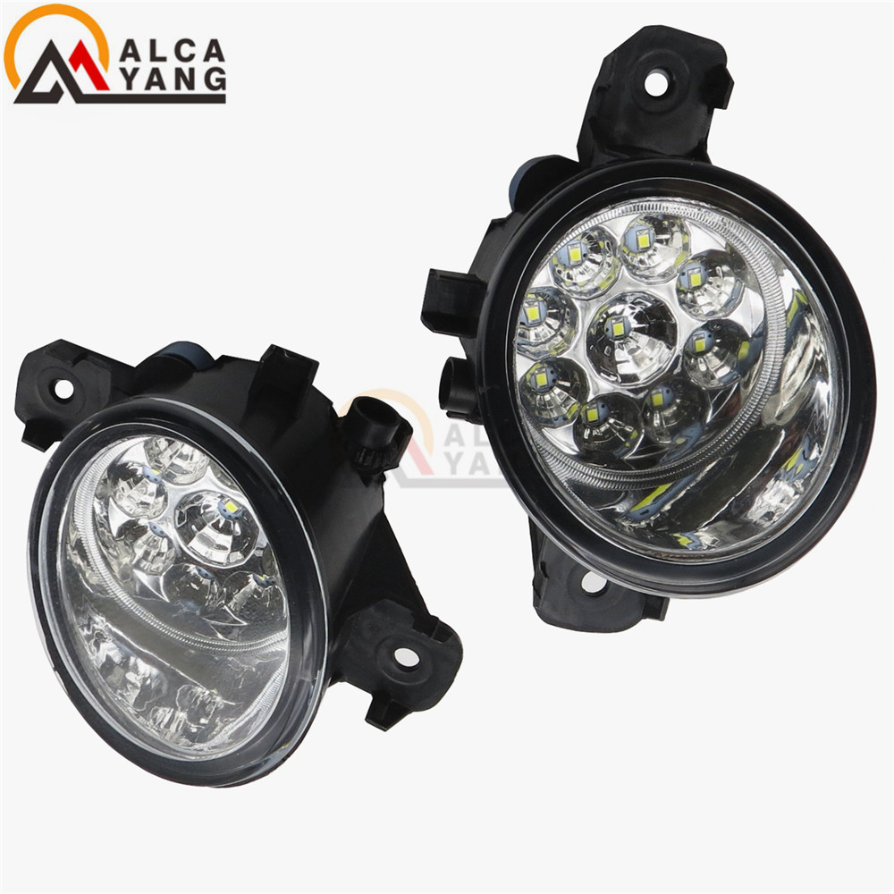 For INFINITI M35/45 JX35 QX60 G37 2008-2015 Car styling LED fog lights High brightness fog lamps 1SET for nissan altima 2008 2014 car styling led fog lights high brightness fog lamps 1set
