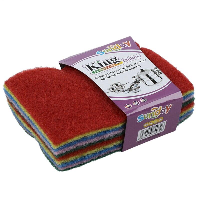 Чистая ткань для мытья тряпок ткань материал 10 шт случайный цвет