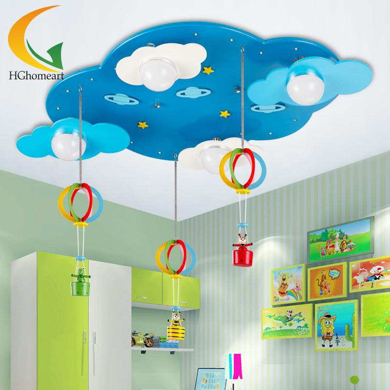 luces del dormitorio de dibujos animados luz de techo para nios nias nios de la novedad