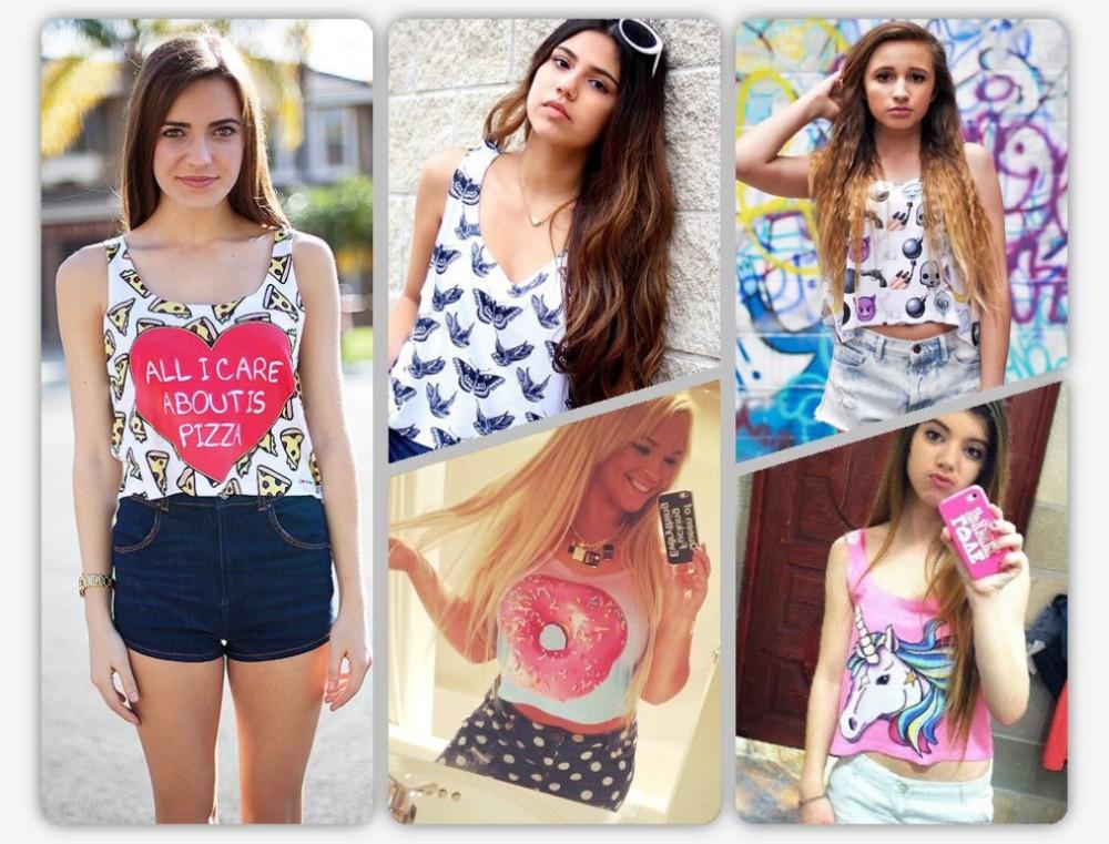 HTB1wDsAHpXXXXboXVXXq6xXFXXXH - multicolor T-Shirts 3D Print women tank tops girlfriend gift ideas