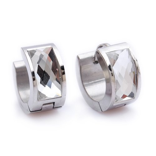 Mens female Jewelry wholesale Stainless Steel Mens Earrings E102