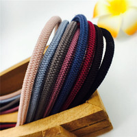 5mm High Resilient Colored Nylon Net Fashionable Hair Loop Elastic Belt Soft Handle 100M Ropes