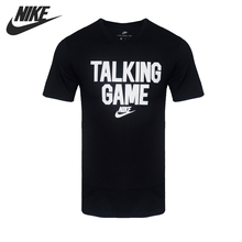 Original New Arrival 2017 NIKE NSW TEE VERBIAGE GAME Men's  T-shirts  short sleeve Sportswear