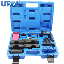 11 PCS Camshaft Alignment Engine Timing Tool Kit For BMW M60 M62 V8 Vanos auto engine camshaft locking alignment timing tool car repair garage tools kit for vw audi vag 2 4 3 2 fsi v6 v8 v10 at2070