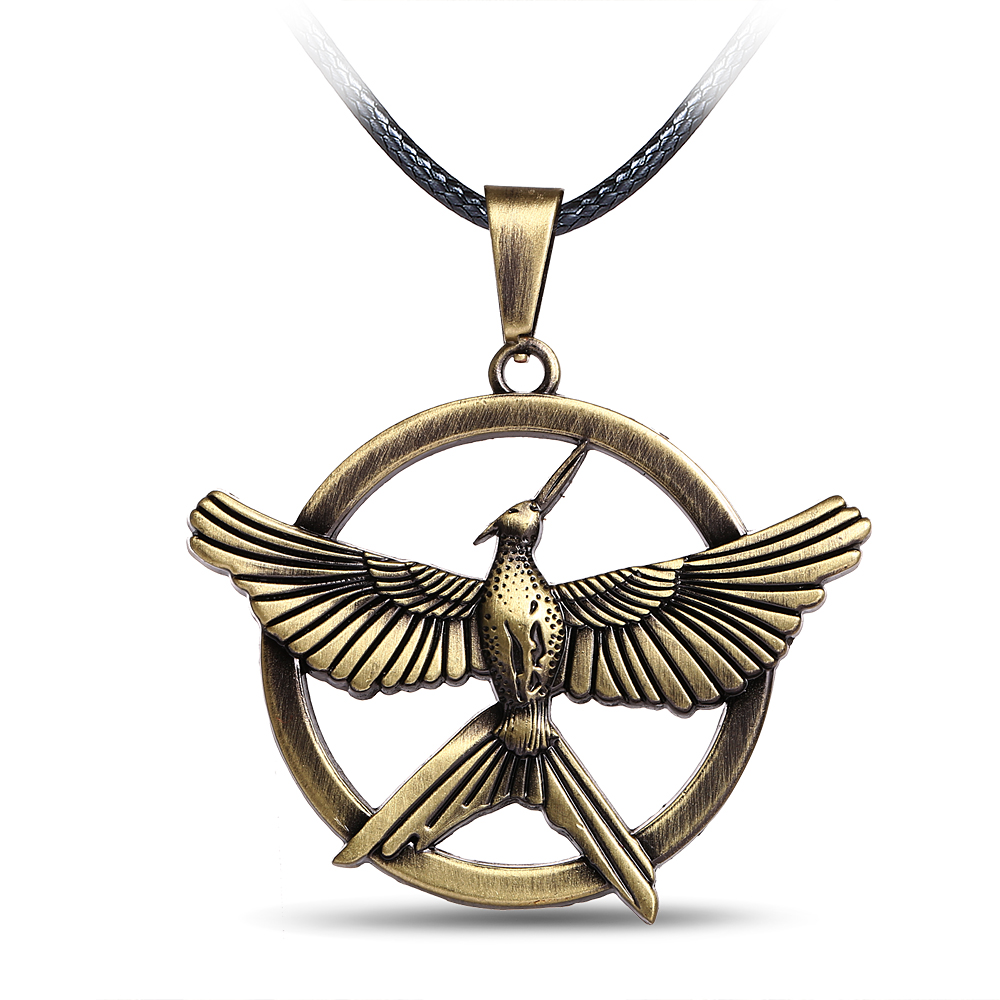 Online Get Cheap Mockingjay Earrings Aliexpress Alibaba Group Hunger  Gamesparable Jewelry
