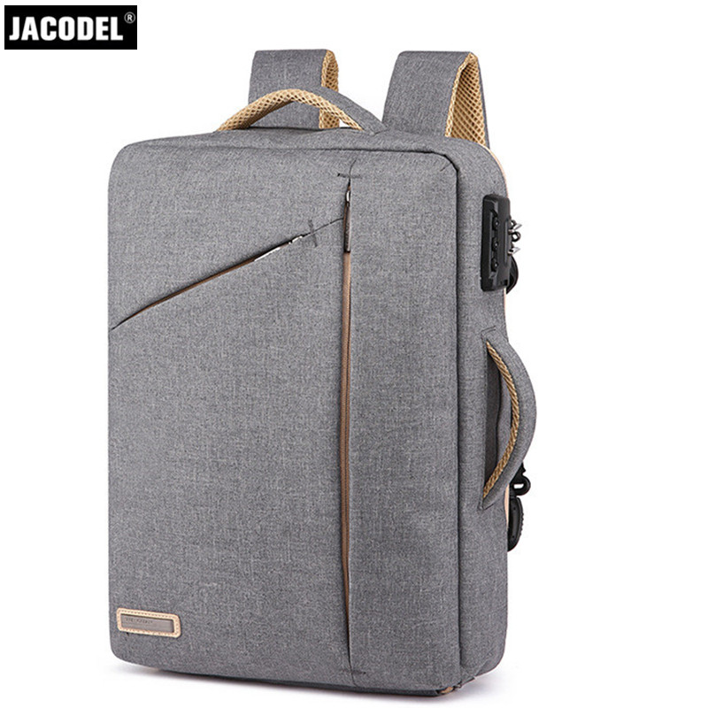 2018 Jacodel Anti-thief New bagpack 15.6inch laptop backpack for women Men school backpack Bag for boy girls Male Travel Mochila ...
