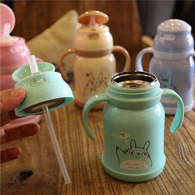 300ML Cute Totoro Insulated Thermo Bottle (4 Colors)