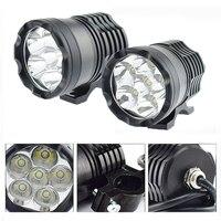 Motorbike auxiliary headlights led moto fog lamp spotlights Headlamp 6000K White Moto work lamp car accessories DRL waterproof