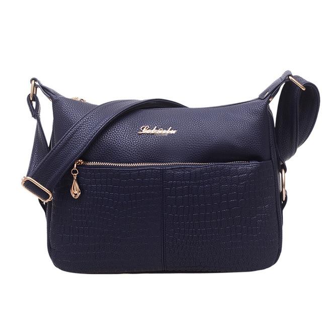 Hot Sale Fashion Women PU Leather Handbags Women Messenger Bag High Quality Crossbody Shoulder Bag Ladies Satchel Bolsa Feminina