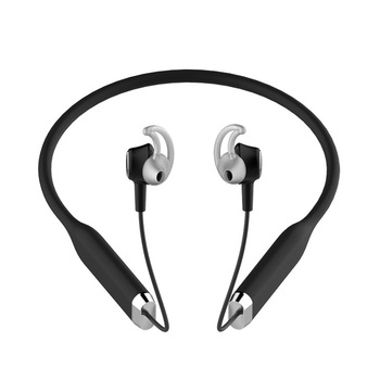 ANC Wireless Bluetooth Headphones Active Noise-cancelling headphone Neck-hanging Type Run Pleasant To The Ear Type Motion Stereo