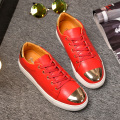 New !!! Arrival popular Men Casual Shoes luxury brand men Fashion shoes with flash Metal sequins from big size 39-45