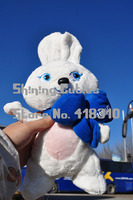 Original 2014 Sochi Winter Olympics Mascot Rabbit Plush Toy Doll Birthday Gift Limited Collection
