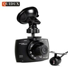 Quidux два объектива G30 Видеорегистраторы для автомобилей Камера HD 1080 P видео Регистраторы DVRs Ночное видение Авто регистраторы veicular Kamera двух камер logger